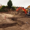 Foundations underway on site at Chalgrove.